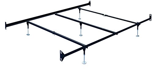 Queen Size Bed Frame Rail with Headboard - Footboard Attachment Shopping Results