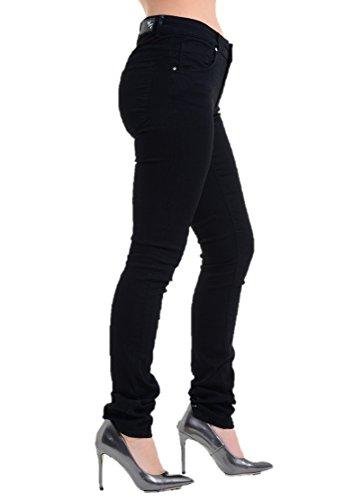 Ex Jeans Noir Highstreet noir Femme ar1aOv