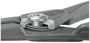 KNIPEX(クニペックス)4921-A31 軸用精密スナップリングプライヤー 曲(SB)