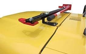 Hi Lift Jack Mount for Jeep Wranglers 1987-2006 - High Jack Hood Mount