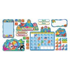 - Sea Buddies Calendar Bulletin Board Set, 17 1/2 x 23, 105