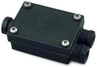 Leds-c4 accesorio - Caja conexiónes estanca ip67 negro: Amazon.es: Iluminación