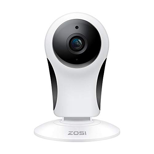 ZOSI 1080P Wireless Camera Home Security, 2.4G Only IP Camera Indoor with 10m Night Vision for Home/Office/Baby/Elder/Pet/Nanny Monitor, Two-Way Audio, Motion Alert, Mobile Access