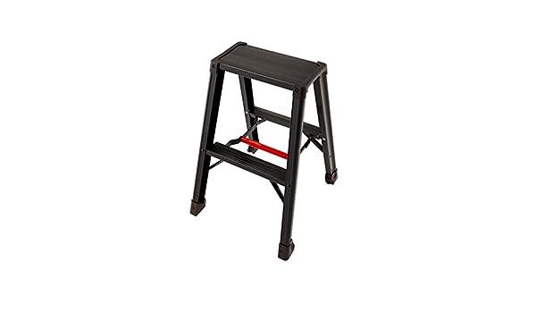 XEWNEG Escalera Plegable de Aluminio, Ingeniería de Peso Ligero del hogar Plegable Antideslizante Escalera, multifunción Soporte de Flor/Estantería (Size : 43×49×60cm): Amazon.es: Hogar