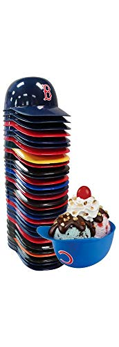 Set of 30 MLB Baseball Team 8oz Ice Cream Sundae Helmet Snack Bowls -