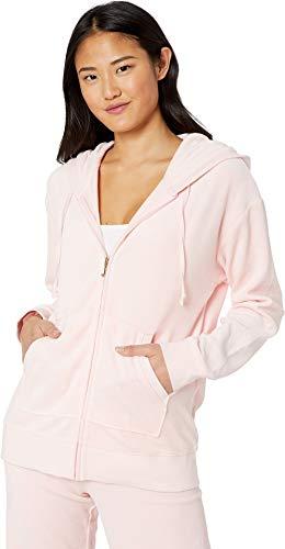 Juicy Couture Women's Beachwood Velour Jacket Pint Size Medium ()