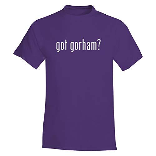 - got Gorham? - A Soft & Comfortable Men's T-Shirt, Purple, XXX-Large
