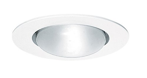 - Juno Lighting 201-WH 5-Inch Open Frame Downlight with White Trim