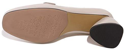 Beige Enfiler Avec Mors Hauteur A Cm Femmes Plat 5 Classique De Talon Cuir Gris 5 Escarpins Simplec Chaussures Mocassins En nH4fxq