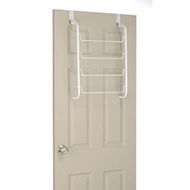 Whitmor Over The Door Towel / Drying Rack, White