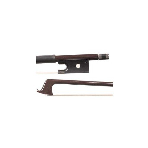 Glasser Standard 4/4 Violin Brown Fiberglass Bow with White Hair