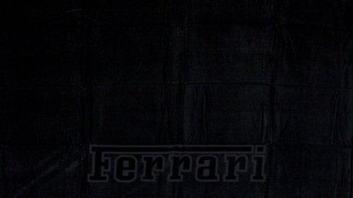 Ferrari Emblem Beach Towel - Ferrari Ferrari Black By