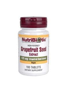 Nutribiotic, Inc. - Grapefruit Seed Extract Tablets, 125 mg, 100 tabs.