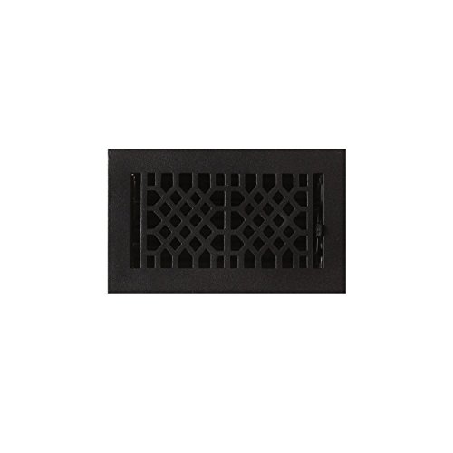 4x8 black floor register - 1