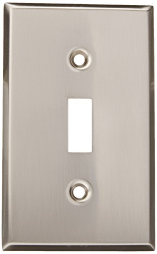 - MINTCRAFT 881-07-SOU Switch Plate Single, Brush Nickel