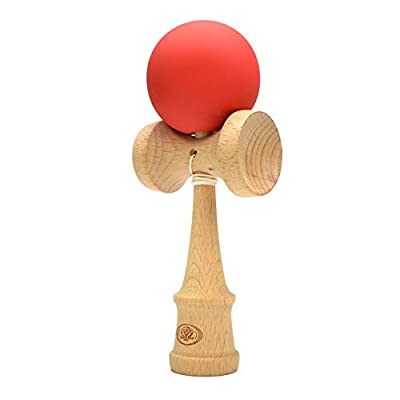 Yomega Pro Model Kendama – The Traditional Japanese Toss and Catch Skill Game with Rubberized Paint for Easier Skill Building Play. (Colors May Vary): Toys & Games