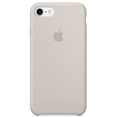 Dawsofl Soft Silicone Case Cover for Apple iPhone 8 (4.7inch) Boxed- Retail Packaging (Stone)