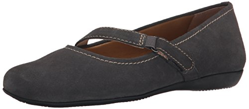 Women's Simmy Trotters Mary Graphite Flat Jane TZwxqvx7