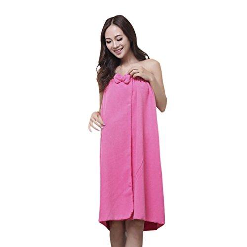 804fd964fa Spritumn Women s Towel Wrap Vogue Comfy Absorbent Microfiber Women s Shower  Spa Body Wrap Bath Towel