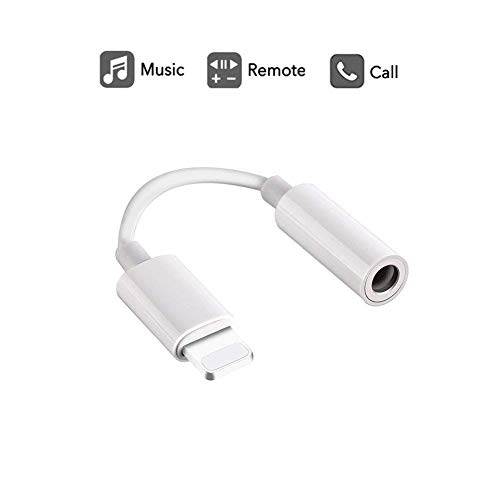 Labobbon 3.5mm Headphone Jack Adapter, Connector for iPhone