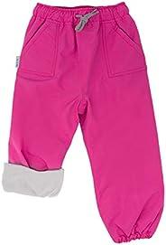Jan & Jul Kids' Rain or Snow Pants, Water-Proof Cozy-Dry Fleece-Lined for Girls Boys