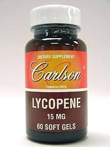 Carlson Labs - Lycopene 15 mg 60 gels by Carlson Labs