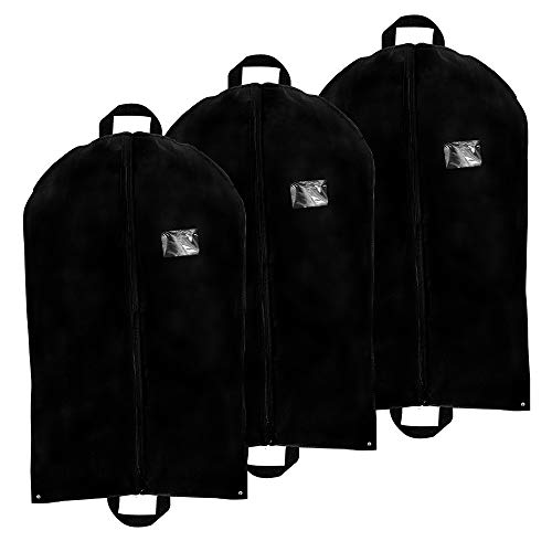 Garment Bag with Pockets for Suits