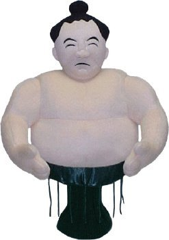 High Quality Sumo Wrestler Golf Headcover 460 CC