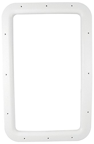 Valterra A77010 Nu Tru White Carded Interior Entrance Door Window Frame ()