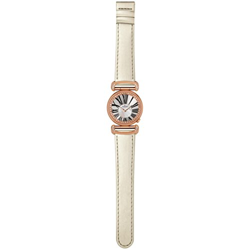 Charmex Malibu Women's 32mm White Calfskin Stainless Steel Case Watch 6275
