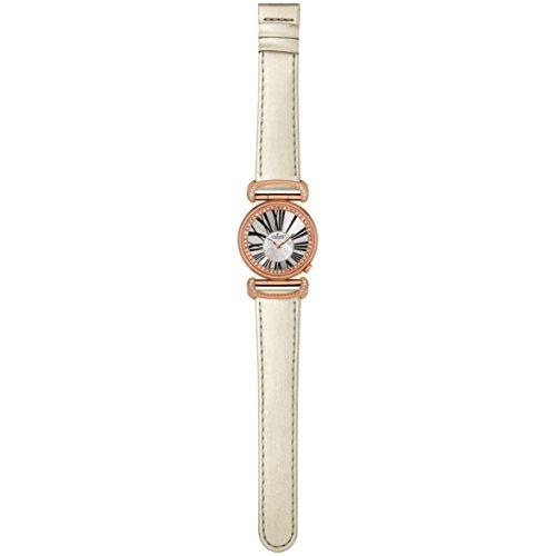 Charmex Malibu Women's 32mm White Calfskin Stainless Steel Case Watch 6275