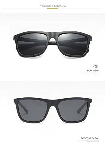 De C1 para Sol Polarizadas 400 Protección para Gafas UV C4 Mujer Aviator Hombre fnq7Id
