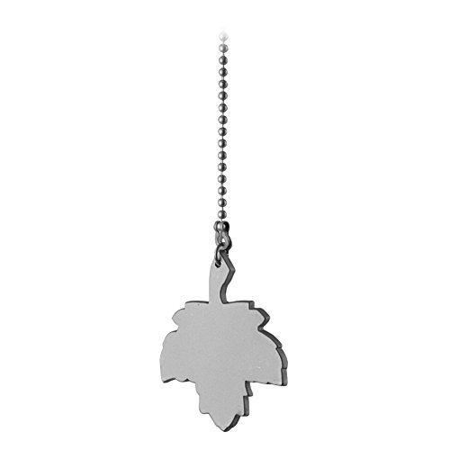 Westinghouse 77541 - Pull Chain with Maple Leaf and Brushed Pewter Finish (77541)