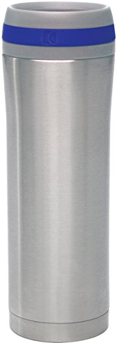 Chantal SL92-T 15-Ounce Travel Mug, Stainless Steel (15 Ounce Travel Mug)