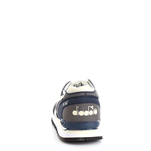 SCARPE UOMO DIADORA N-92 501.171820 (40 - C6654 BLU DENIM SCURO-GRIGIO BUFERA)