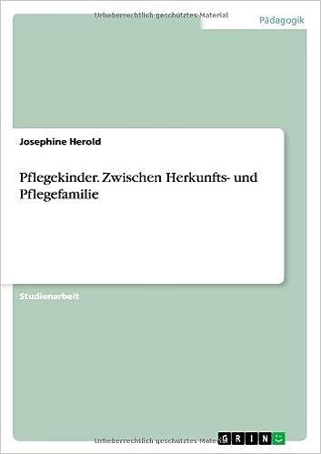 Book Pflegekinder. Zwischen Herkunfts- und Pflegefamilie