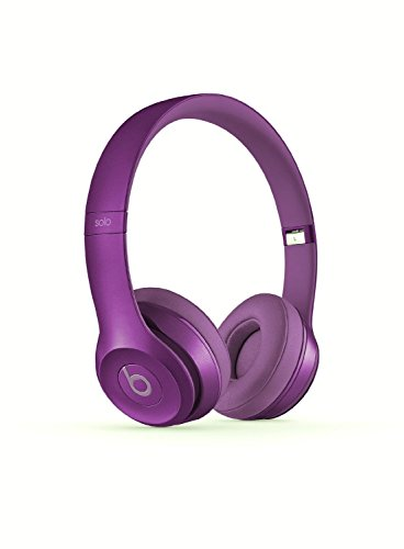 Beats Solo 2 Wired On-Ear Headphone Royal Collection - Imperial Violet (Certified Refurbished)
