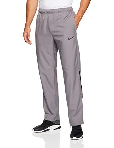 Nike Men's Dry Woven Team Training Pants (Gunsmoke/Black, Large)