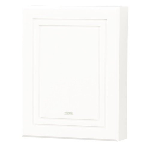 NuTone LA100WH Decorative Wired Two-Note Door Chime, White
