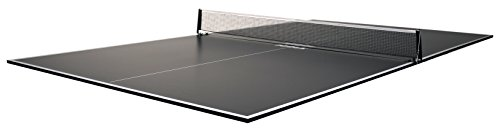 (JOOLA Regulation Table Tennis Conversion Top with Foam Backing and Net Set - Full Sized MDF Ping Pong Table Top for Pool Table - Quick and Easy Assembly - Foam Backing to Protect Billiard Table)