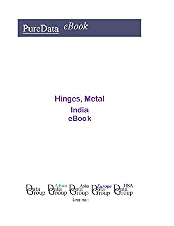 Hinges, Metal in India: Market Sales (English Edition) eBook ...