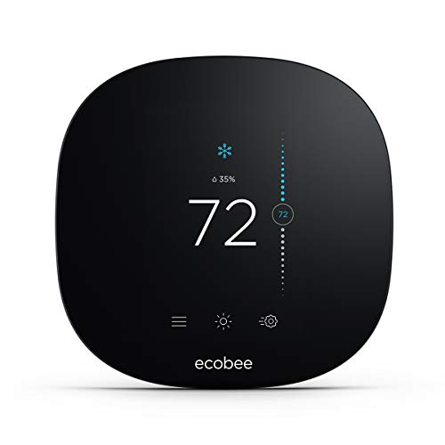 ecobee3 lite Smart Thermostat, 2nd Gen, Black (Good Reasons To Run Away From Home)
