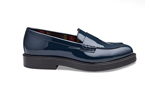 Loafer Soldini Flats blue Women's blue 6nfUfzWqZ