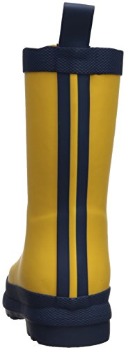 Hatley Jungen Classic Rain Boot Gummistiefel Yellow (Yellow/Navy)