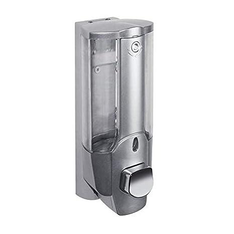 PeanutaocAC Dispensador Manual del champú de la Ducha del desinfectante del jabón del Soporte de la