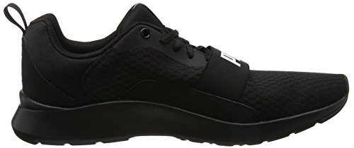 Mixte Noir Basses puma Puma puma Black Adulte Puma Black 01 Wired Sneakers Black wqtw4XA