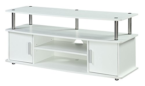 - Convenience Concepts 151401W Designs2Go Television Stand, White