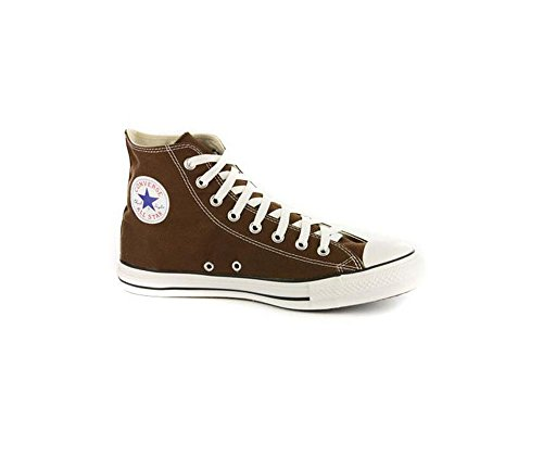 Converse Unisex All Star Chuck Taylor Chocolate Brown High Top Sneakers 10 - Top Brown High