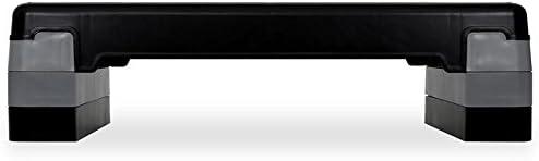 Klarfit FIT-ST1 step para fitness (3 alturas regulables de 14,5 cm ...