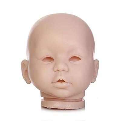 TERABITHIA Lifelike Silicone-Like Vinyl Awake Reborn Doll Kits for 22 inch Baby Doll: Toys & Games